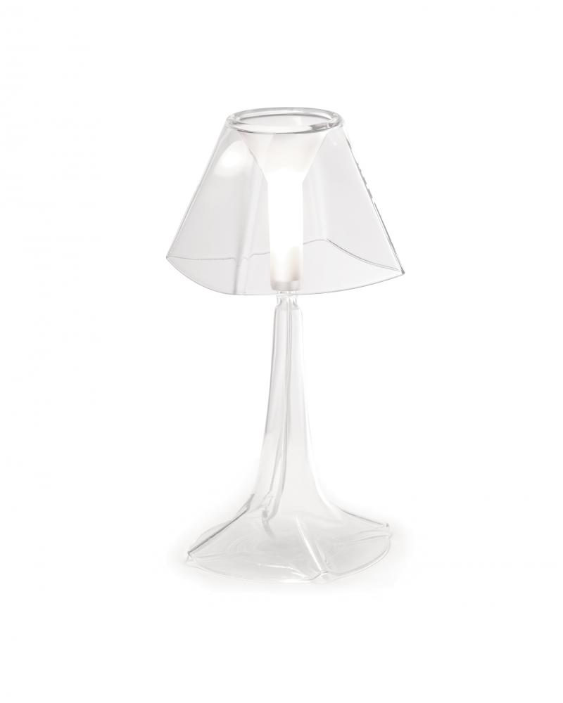 Greenvale Electric Supply in Greenvale, New York, United States, Estiluz 4X7RM, Clear Table Lamp, Karina