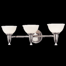 Hudson Valley 4993-BB - 3 Light Bath Bracket