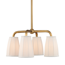 Hudson Valley 6064-AGB - 4 Light Chandelier