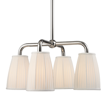 Hudson Valley 6064-PN - 4 Light Chandelier