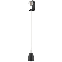 Hudson Valley HL163401-PN/BK - 1 Light Floor Lamp