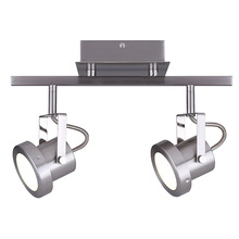 Canarm LT134A02BN - OLENA, LT134A02BN, 2 Lt LED Track, 15W LED (Integrated), Dimmable, 736 Lumens, 3000K Color Temperatu
