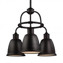 Feiss F3022/3ORB - 3 - Light Chandelier