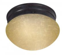 Nuvo 60/2652 - 1 Light ES Small Mushroom w/ Frosted Glass - (1) 13w GU24 Lamp Included
