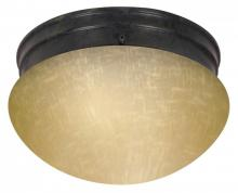 Nuvo 60/2656 - 2 Light ES Large Mushroom w/ Frosted Glass - (1) 13w GU24 Lamp Included