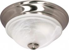 "Nuvo 60/461 - Triumph - 2 Light Cfl - 11"" - Flush Mount - (2) 13W GU24 Lamps Included"