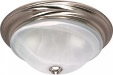 "Nuvo 60/463 - Triumph - 2 Light Cfl - 16"" - Flush Mount - (2) 18W GU24 Lamps Included"
