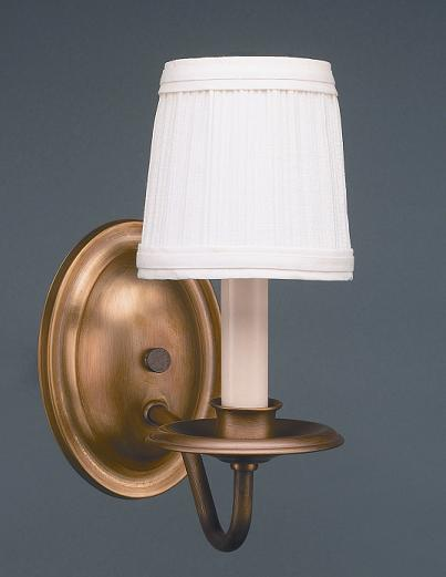 Greenvale Electric Supply in Greenvale, New York, United States,  UR1EE, Wall Sconce 1 J-Arm Antique Brass 1 Candelabra Socket Eggshell Shade, Sconce