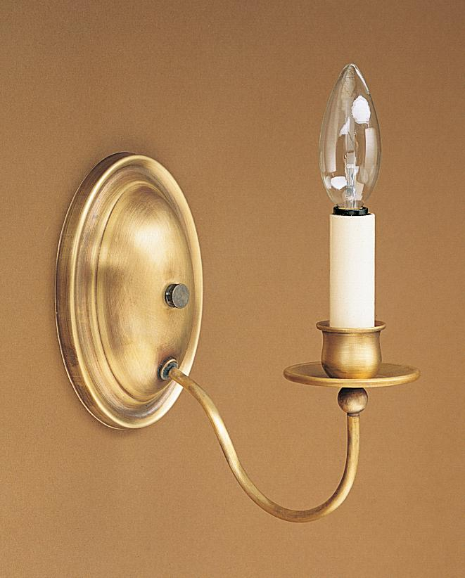 Greenvale Electric Supply in Greenvale, New York, United States,  UR1EK, Wall Sconce 1 J-Arm Antique Brass 1 Candelabra Socket Eggshell Shade, Sconce