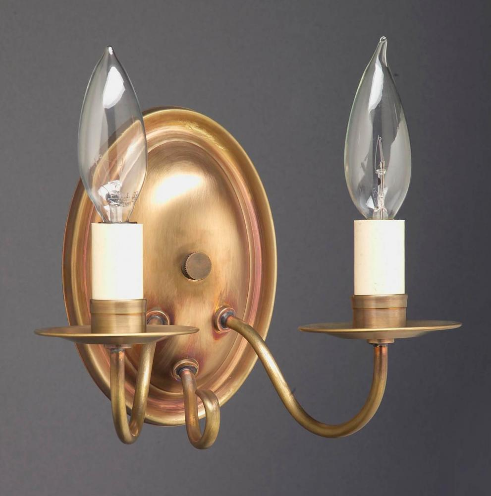 Greenvale Electric Supply in Greenvale, New York, United States, Northeast Lantern 7YZZR, Wall Sconce 2 J-Arm Antique Brass 2 Candelabra Sockets, Sconce