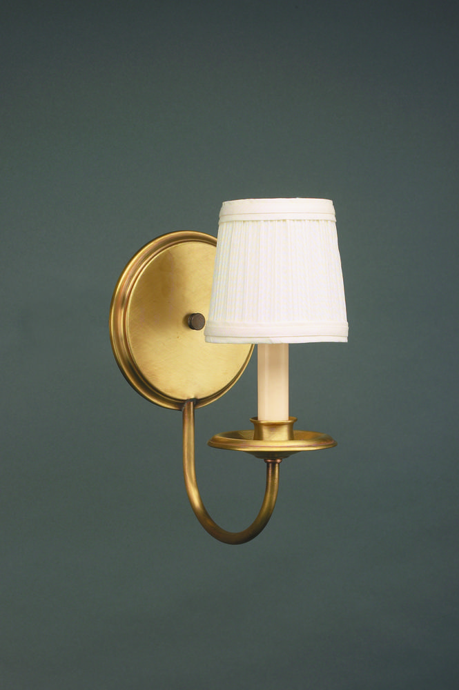 Greenvale Electric Supply in Greenvale, New York, United States, Northeast Lantern UR2CE, Wall Sconce Antique Brass 1 Candelabra Socket Eggshell Shade, Sconce