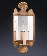 Northeast Lantern 126-AC-LT1-PM - Mirrored Wall Sconce Crimp Top And Bottom Antique Copper 1 Candelabra Socket Plain Mirror