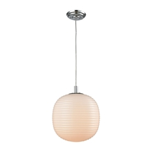ELK Lighting 56560/1-LA - Beehive 1 Light Pendant In Polished Chrome With