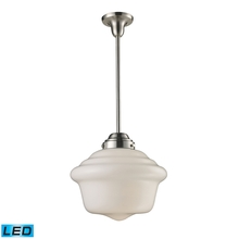 ELK Lighting 69040-1-LED - Schoolhouse Pendants 1 Light LED Pendant In Sati