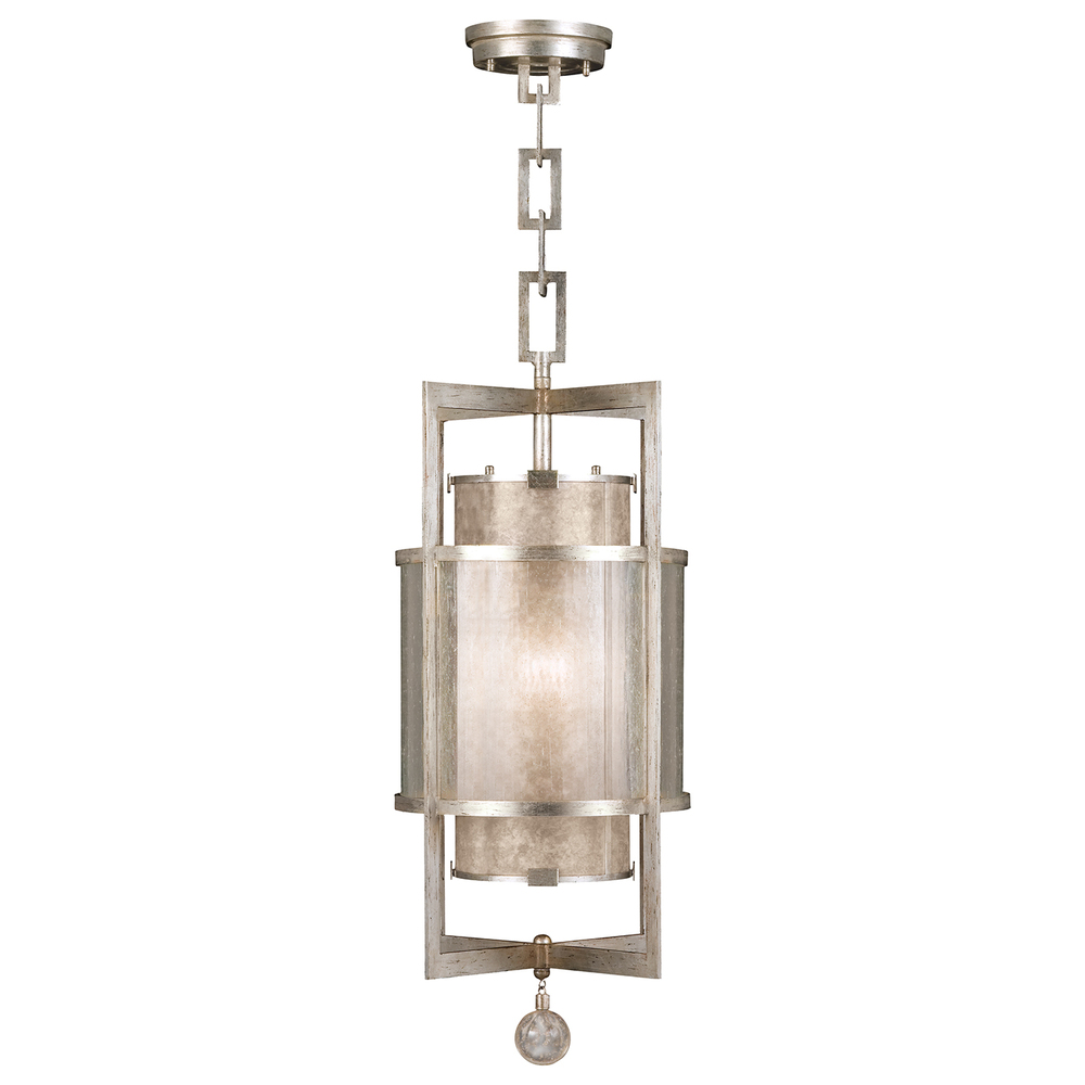 Greenvale Electric Supply in Greenvale, New York, United States,  92LL, Lantern, Singapore Moderne Silver