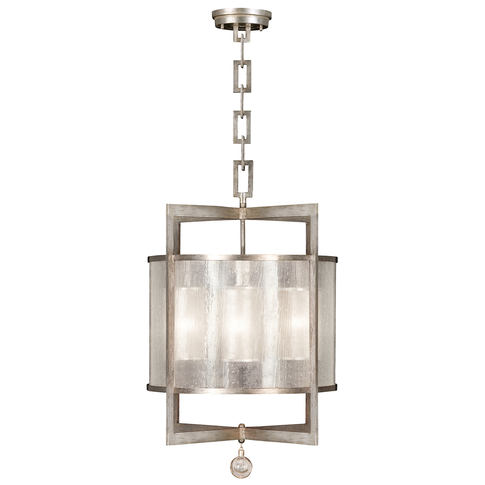 Greenvale Electric Supply in Greenvale, New York, United States, Fine Art Lamps 92LP, Lantern, Singapore Moderne Silver