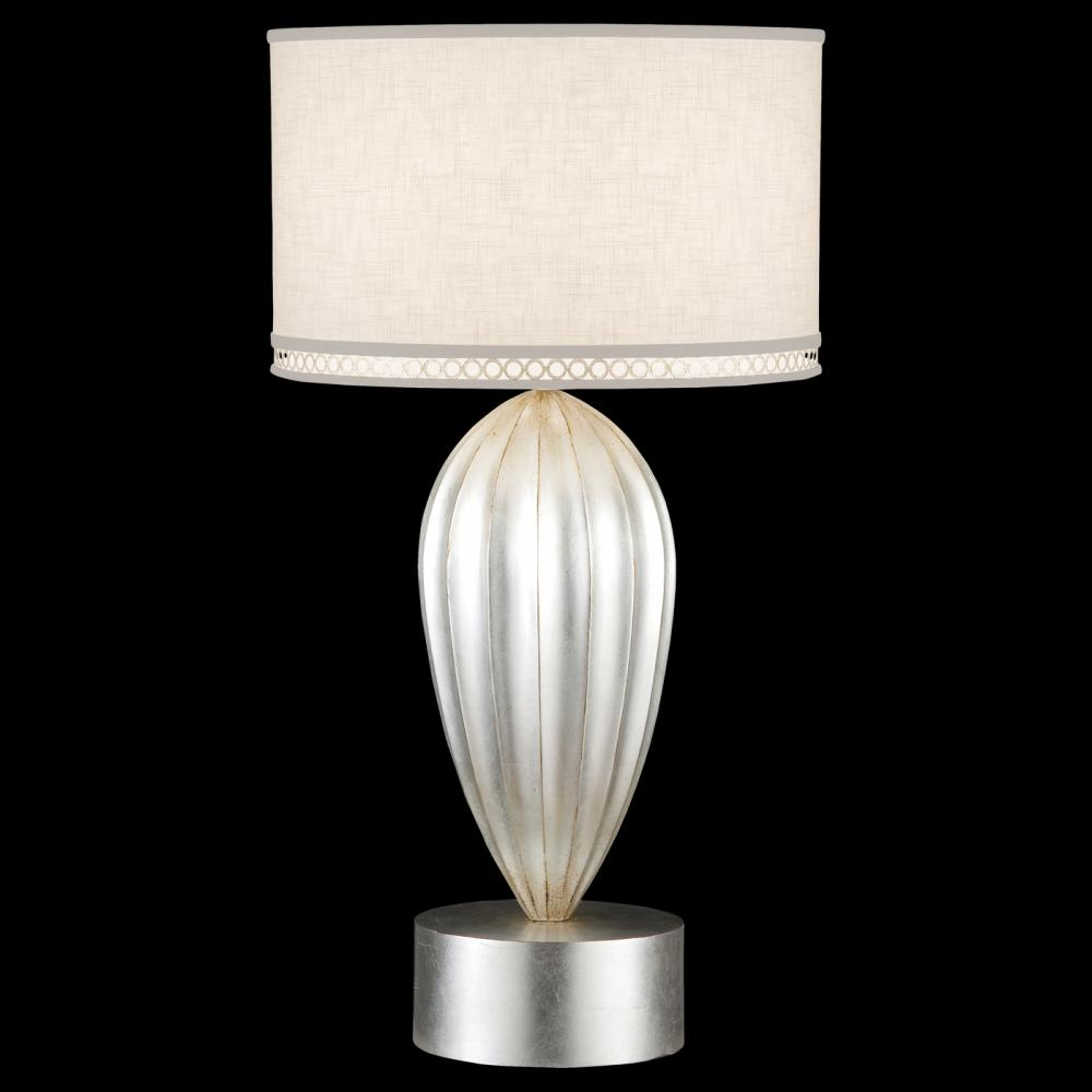 Greenvale Electric Supply in Greenvale, New York, United States, Fine Art Lamps CYAZ, Table Lamp, Allegretto Silver